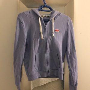 VS PINK purple sweater